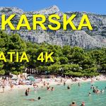 Ako to vyzerá na Makarskej v Chorvátsku